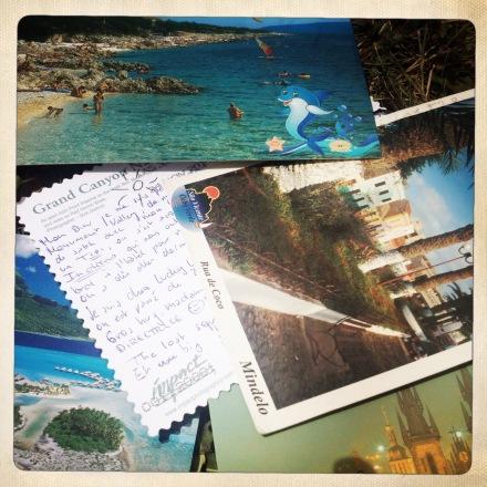 La bulle de Vero  - Cartes postales (2)