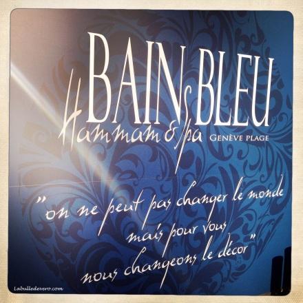 La bulle de Vero - Bain Bleu. (2)