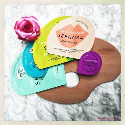 La bulle de Vero - Masques Sephora